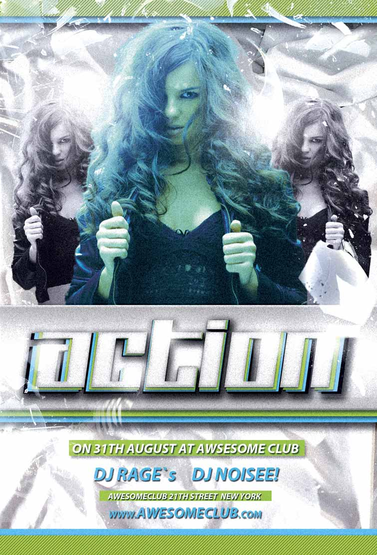 free nightclub flyer design templates - free action club flyer template