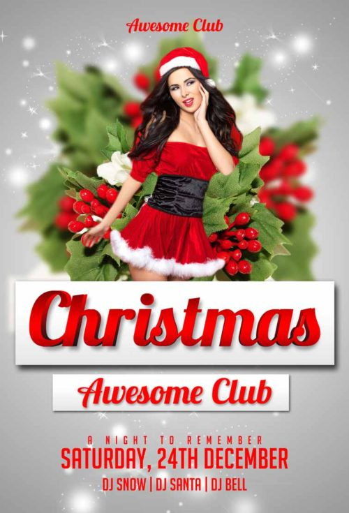 free-christmas-party-flyer-template-awesomeflyer-preview