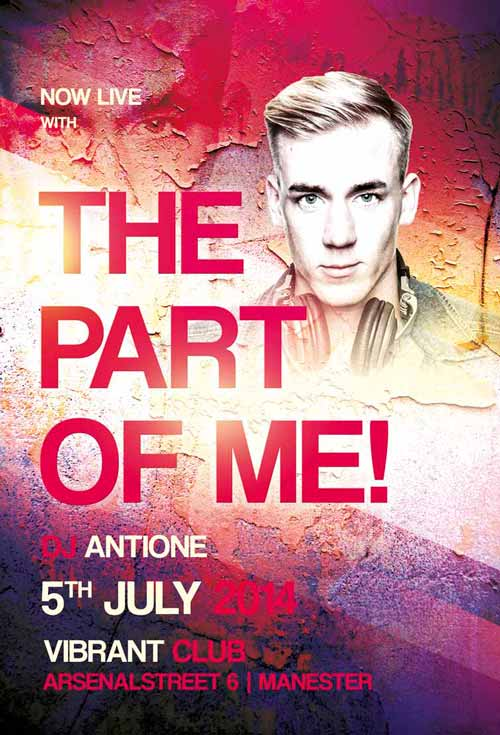 Free Part of Me Flyer Template