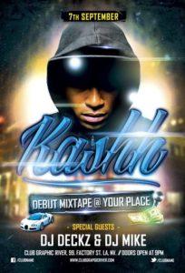 Debut-Mixtape-Hip-Hop-Flyer-by-majkol-Awesomeflyer-com-500