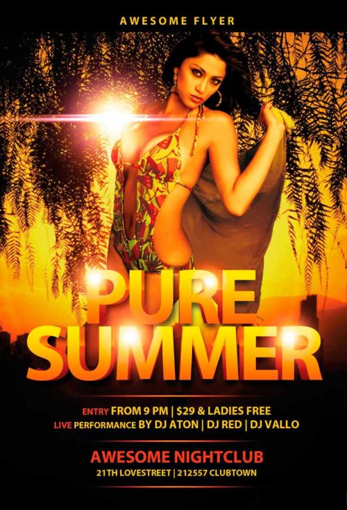 pure-summer-flyer-template-awesomeflyer-com-preview