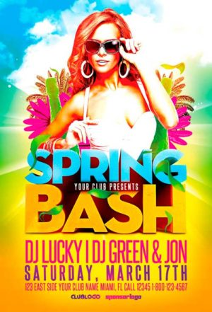 Spring Bash Flyer Template Vol.2