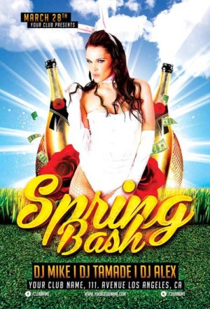 Spring Bash Flyer Template Vol.1