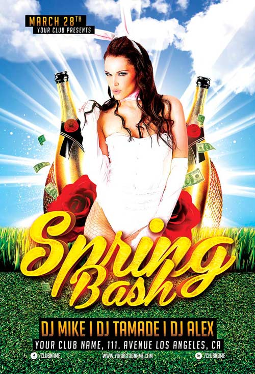 spring-bash-flyer-template-awesomeflyer-com