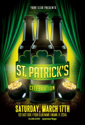 St. Patrick's Celebration Vol. 1 Flyer Template