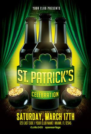 St. Patrick's Celebration Vol. 1 Flyer Template