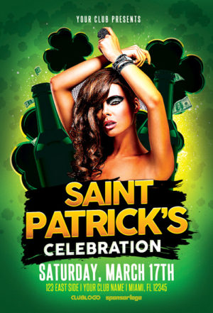 St. Patrick's Celebration Vol. 2 Flyer Template