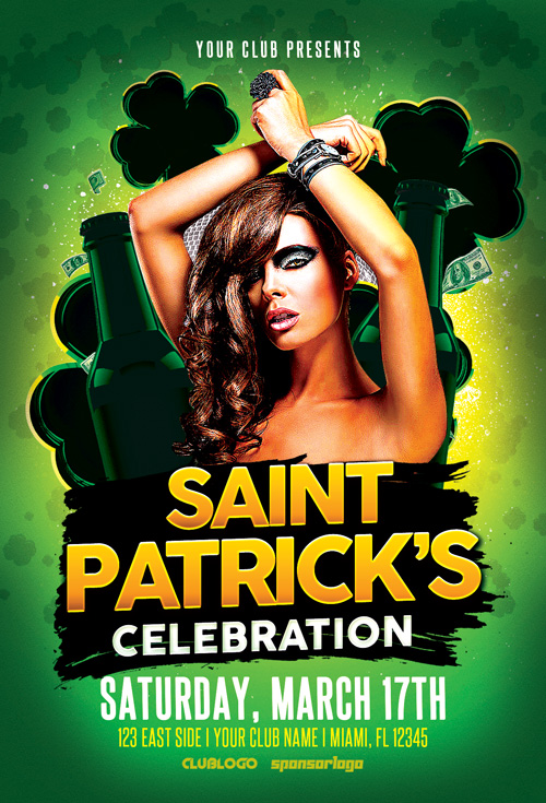 St. Patrick's Celebration Vol. 2 Flyer Template
