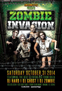 zombie-invasion-halloween-party-flyer-awesomeflyer-com
