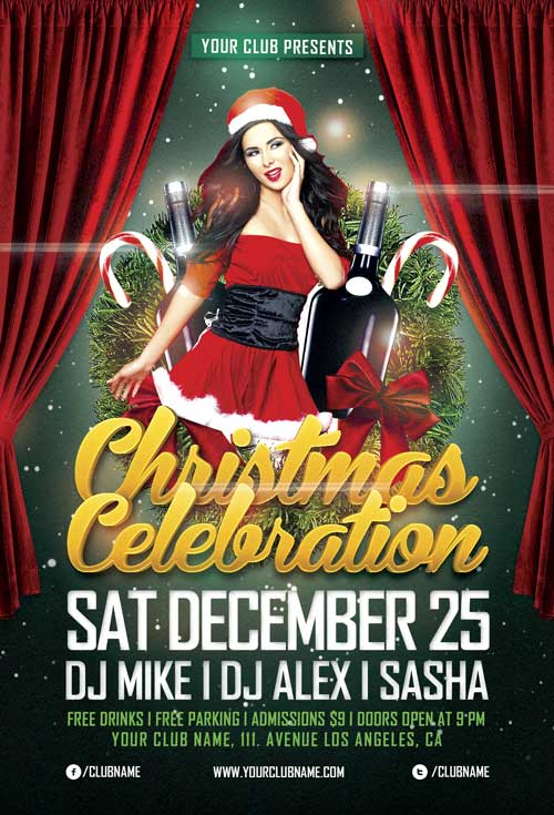 christmas-celebration-flyer-template-awesomeflyer-com