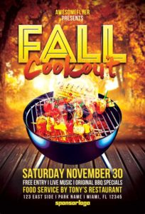fall-cookout-flyer-template-500-awesomeflyer