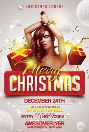Merry Xmas Flyer Template