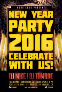 new-year-party-typo-flyer-template-awesomeflyer-com