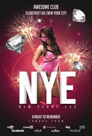 New Years Eve Club Flyer Template