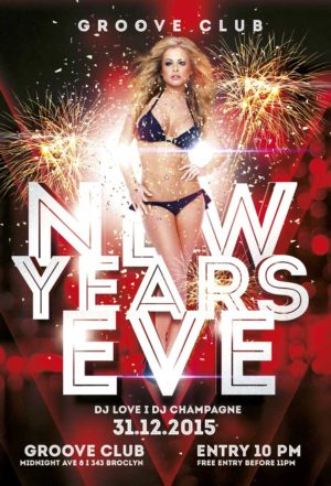 New Years Eve Party Vol 2 Flyer
