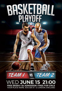 Basketball-Playoff-Flyer-Template-Awesomeflyer-com