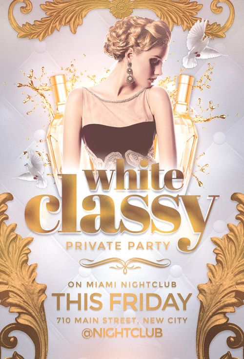 Classy-Party-Flyer-Template-Awesomeflyer-com