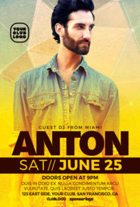 DJ-Anton-Club-Party-Flyer-Template-Awesomeflyer-com