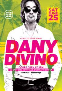 DJ-Dany-Club-Party-Flyer-Template-Awesomeflyer-com