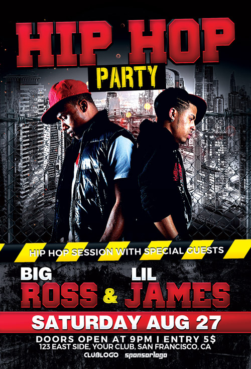 Hip-Hop-Battle-Party-Flyer-Template-Awesomeflyer-com