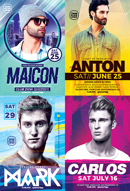 dj-flyer-template-bundle-2-preview-1-awesomeflyer-com