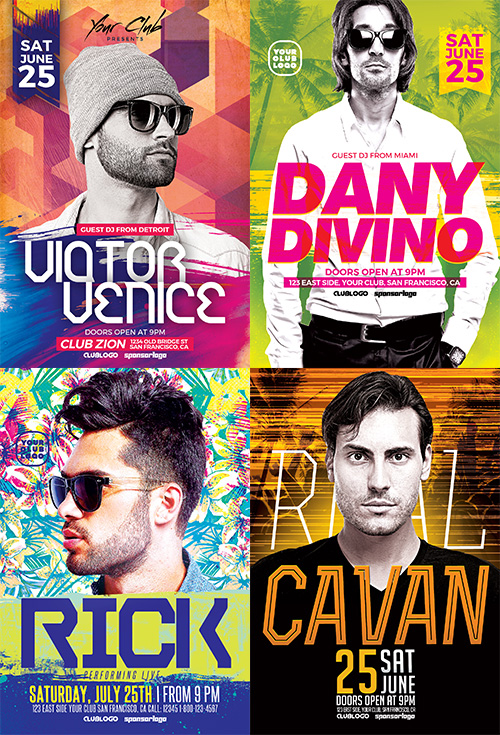 dj-flyer-template-bundle-2-preview-2-awesomeflyer-com