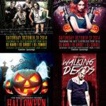Halloween Flyer Template Bundle