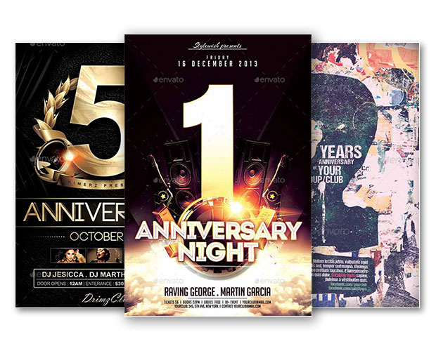 Download free premium club and party photoshop flyer templates best of anniversary flyer templates free and premium flyer pronofoot35fo Choice Image