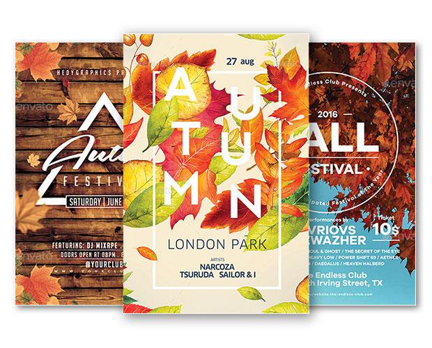 Best of Autumn Flyer Templates