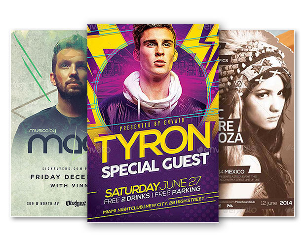 Download Free Premium Club And Party Photoshop Flyer Templates