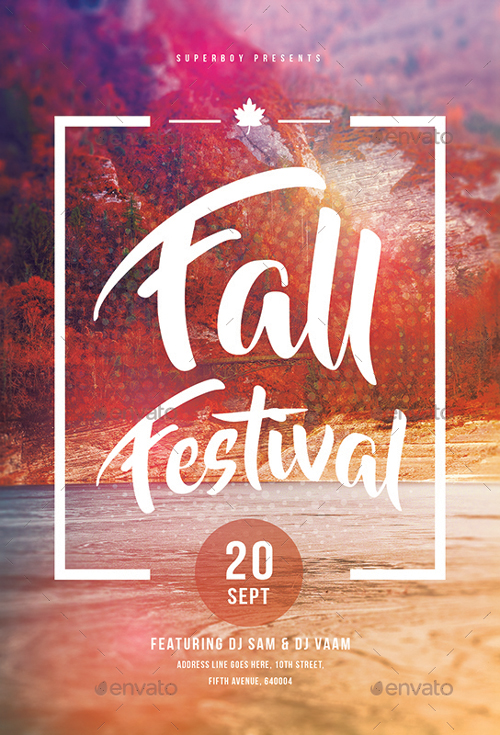 Best Of Autumn Flyer Templates - Free And Premium Flyer Collection