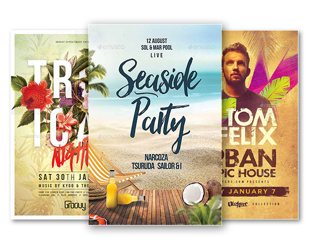 Best of Summer Flyer Templates for Photoshop