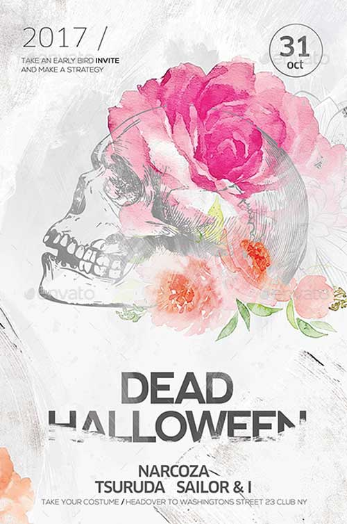 Creative Halloween Flyer