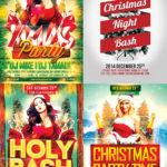 Christmas Flyer Template Bundle