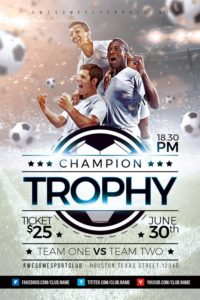 Champion-Trophy-Soccer-Sports-Flyer-Template