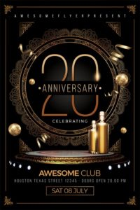 Elegant-Anniversary-Flyer-Template-Awesomeflyer-com