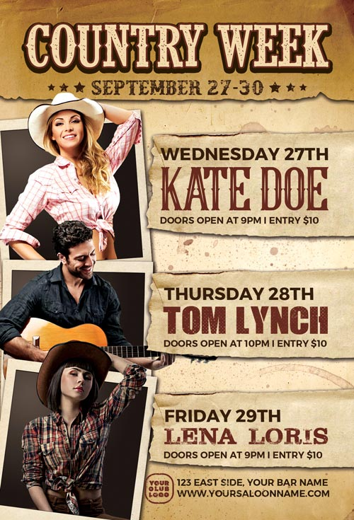 Country-Week-Flyer-Template-Awesomeflyer-com