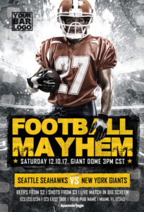 Football-Mayhem-Vol-2-Flyer-Template-Awesomeflyer-com