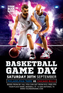 Basketball-Game-Day-Vol-1-Flyer-Template-Awesomeflyer-com