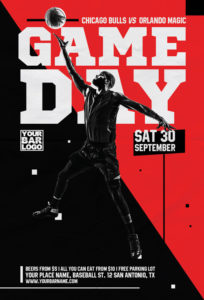 Basketball-Game-Day-Vol-2-Flyer-Template-Awesomeflyer-com