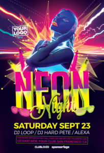 Neon-Night-Flyer-Template-Awesomeflyer-com
