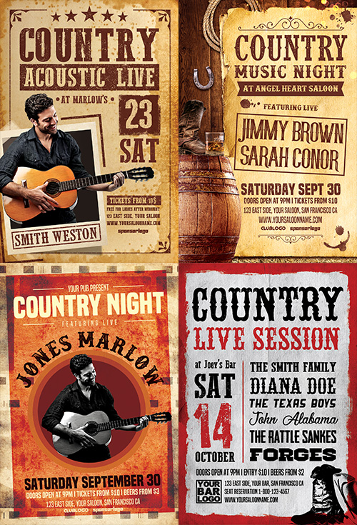 Country-Flyer-Template-Bundle-Preview-1-Awesomeflyer-com