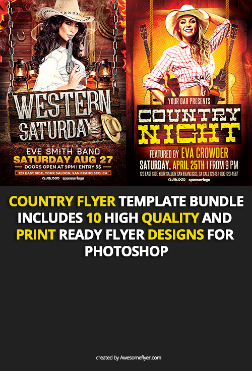Country-Flyer-Template-Bundle-Preview-3-Awesomeflyer-com