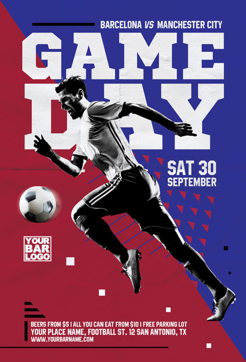 Soccer-Game-Day-Flyer-Template-Awesomeflyer-com