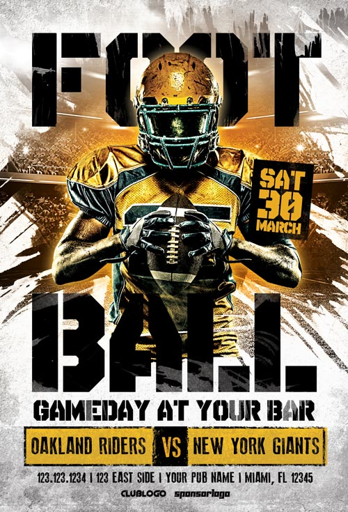 American-Football-Game-Day-Flyer-Template-Awesomeflyer-com