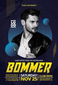 DJ-Artist-Flyer-Template-Awesomeflyer-com