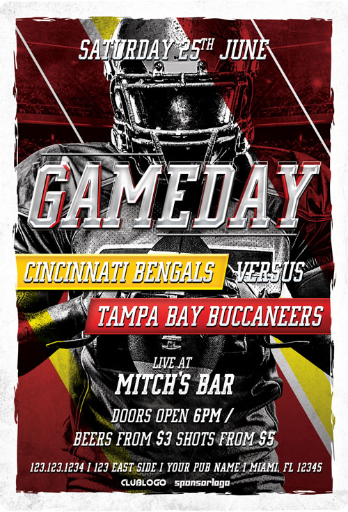 Football-Gameday-Free-Flyer-Template-Awesomeflyer-com