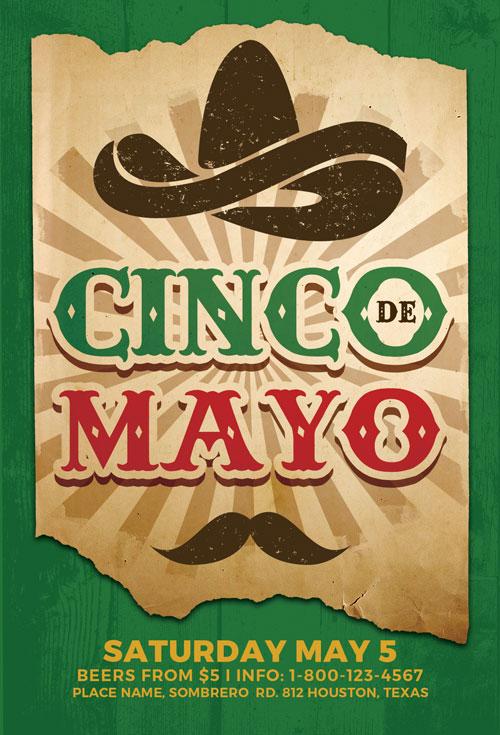 cinco de mayo flyers