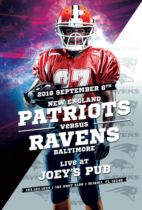 football sport event flyer template flyer for football sport events
