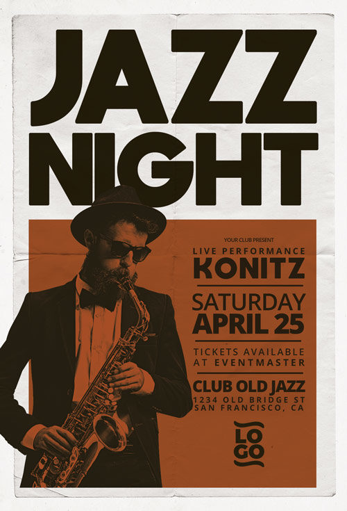 Jazz-Concert-Music-Event-Flyer-Template-Awesomeflyer-com